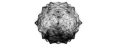 Dodecahedron Digital Art - Dodecametron by Seni Lawal