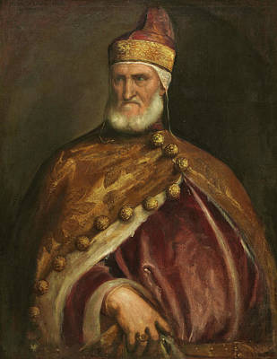 Royal Painting - Doge Andrea Gritti by Titian