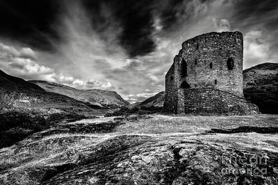 Photograph - Dolbadarn Castle by Adrian Evans