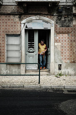Photograph - Door No 7 by Marco Oliveira