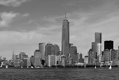 Downtown Manhattn - Freedom Tower Art Print by Yue Wang