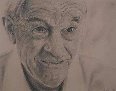 Dr. Ron Paul Art Print by Adrienne Martino