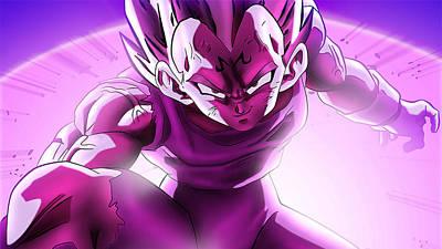 Color Digital Art - Dragon Ball Z by Super Lovely