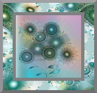 Digital Art - Dream Flowers by Iris Gelbart