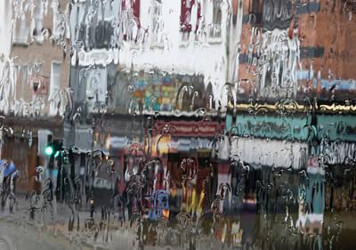 Photograph - Dublin In The Rain. by Rob Huntley