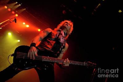 Velvet Revolver Photograph - Duff Mckagan by Jenny Potter