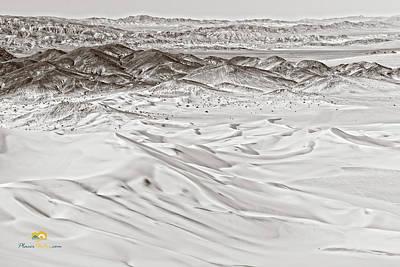 Photograph - Dumont Dunes 3 by Jim Thompson