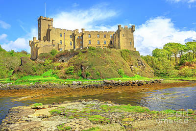 Photograph - Dunvegan Castle Landscape by Benny Marty