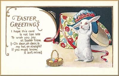 Easter Greetings Art Print by David and Lynn Keller