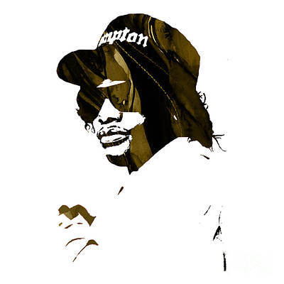 Mixed Media - Eazy E Straight Outta Compton by Marvin Blaine