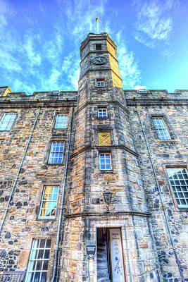 Photograph - Edinburgh Castle  by David Pyatt