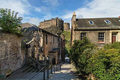 Edinburgh Castle Photograph - Edinburgh - Scotland by Joana Kruse