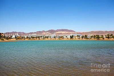 Aqaba Photograph - Eilat, Israel The Artificial Lagoon  by Gal Eitan