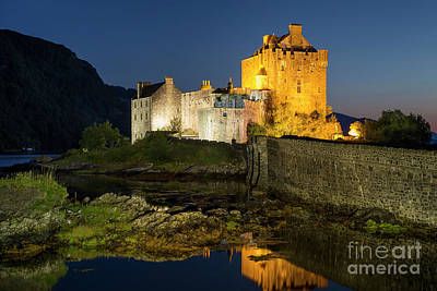 Photograph - Eilean Donan Night by Brian Jannsen