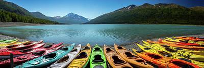 Float Plane Photograph - Eklutna Lake Alaska by Jon Manjeot