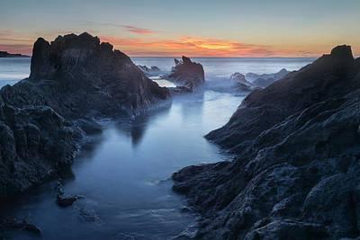 Canary Photograph - El Golfo - Lanzarote by Joana Kruse