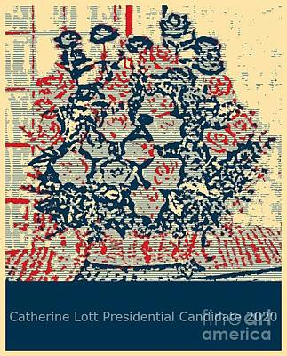 Painting - Election 2020 Presidential Candidate Catherine Lott by Catherine Lott