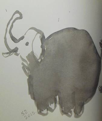 Elephant Original by Samuel Zylstra