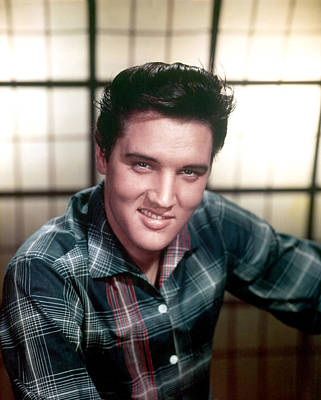 1950s Portraits Photograph - Elvis Presley by Everett