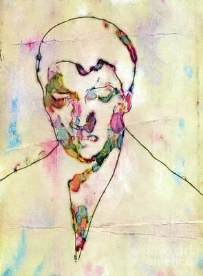 Thriller Digital Art - Elvis Presley, Singer by Mary Bassett