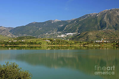 Photograph - Embalse De Vinuela by Rod Jones