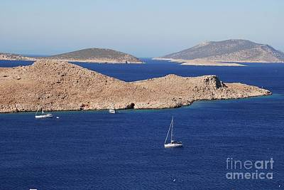 Photograph - Emborio Harbour On Halki by David Fowler