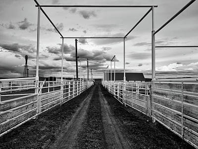 Photograph - Empty Corrals by L O C