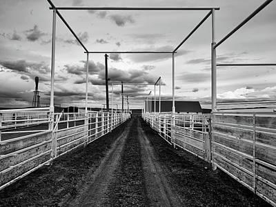 Photograph - Empty Corrals by L O C