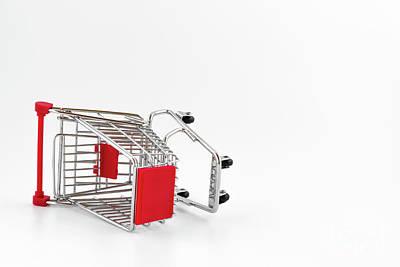 Empty Shopping Cart Art Print