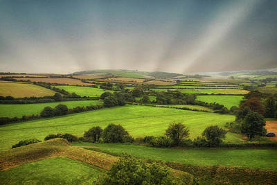 Spring Scenery Photograph - English Countryside by Martin Newman
