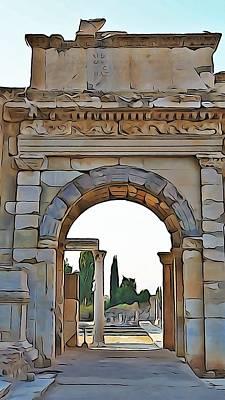 Photograph - Ephesus by Lisa Dunn