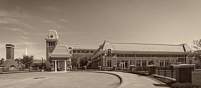 West Virginia University Photograph - Erickson Alumni Center - West Virginia University by Mountain Dreams