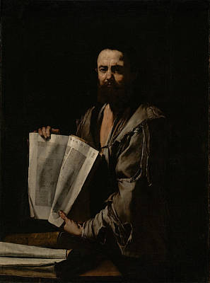 Painting - Euclid by Jusepe de Ribera