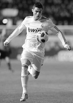 Athletes Royalty-Free and Rights-Managed Images - Cristiano Ronaldo 26 by Rafa Rivas
