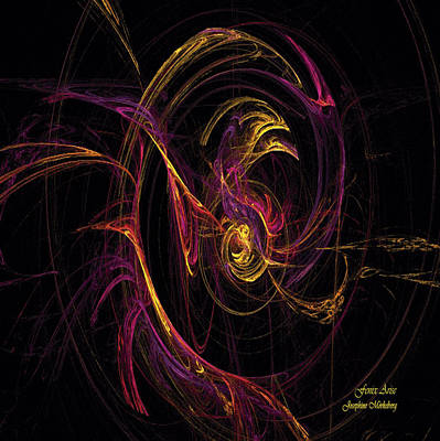 Fenix Arise Art Print by Josephine Morkeberg