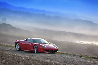 Photograph - #ferrari #458italia  #print by ItzKirb Photography