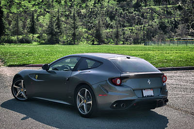 Photograph - #ferrari #ff #print by ItzKirb Photography