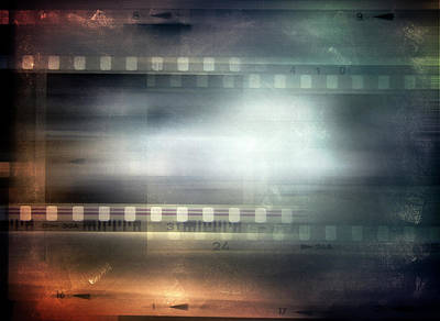 Composite Photograph - Film Strips by Les Cunliffe