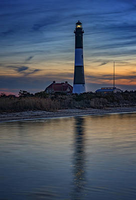 Photograph - Fire Island Lighthouse by Rick Berk