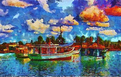 The Who - Fishing boats by Galeria Trompiz