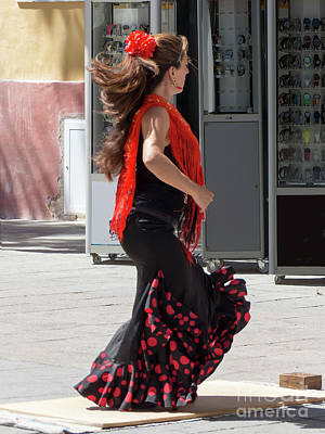 Photograph - Flamenco Dancer by Rod Jones