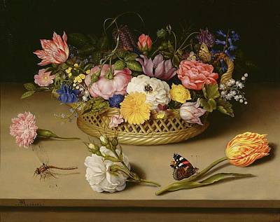 Still Life Painting - Floral Still Life by MotionAge Designs