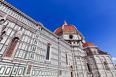 Photograph - Florence, Italy. Cathedral Of Saint Mary Of The Flowers by Michal Bednarek