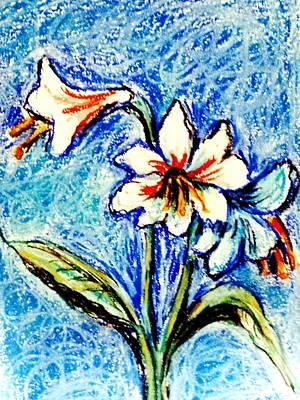 Drawing - Flower Study by Hae Kim