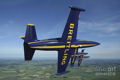 Aero Photograph - Flying With The Aero L-39 Albatros by Daniel Karlsson