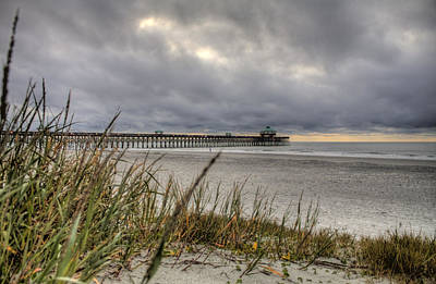 Folly Beach Pier  Original by Dustin K Ryan