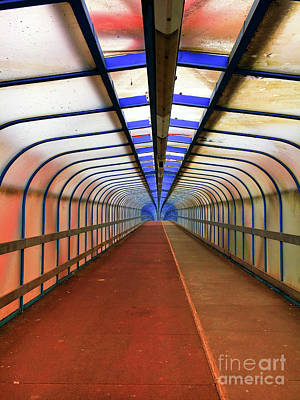Photograph - Footbridge by Tom Gowanlock