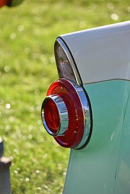 Photograph - Ford Taillight by Dean Ferreira