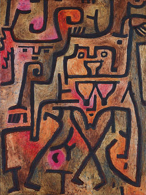 Painting - Forest Witches by Paul Klee