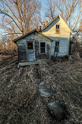 Print featuring the photograph Forgotten by Aaron J Groen